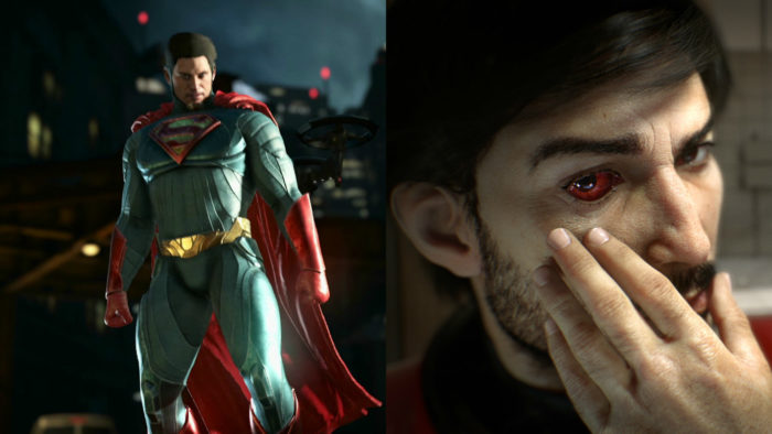 Injustice 2 vs. Prey
