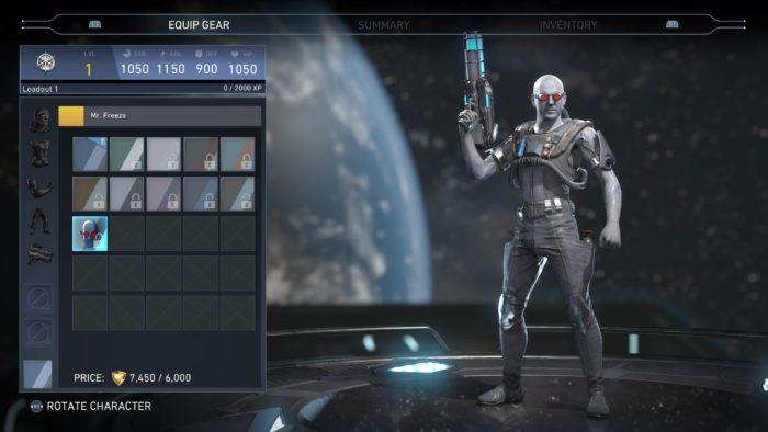 injustice 2 Mr. Freeze