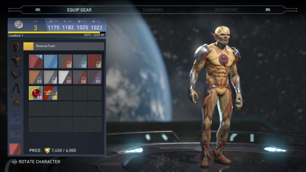injustice 2, skins, characters, reverse flash