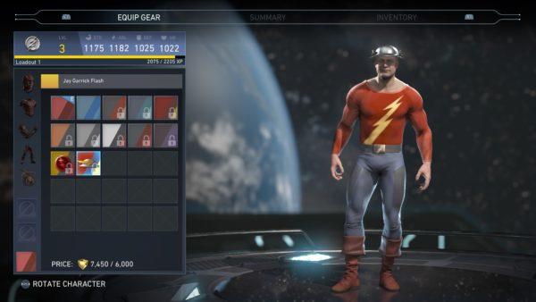 injustice 2, skins, characters, jay garrick flash