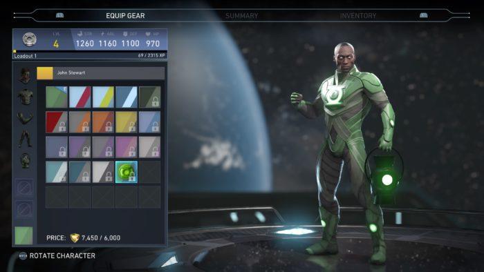 Injustice 2 John Steward Green Lantern