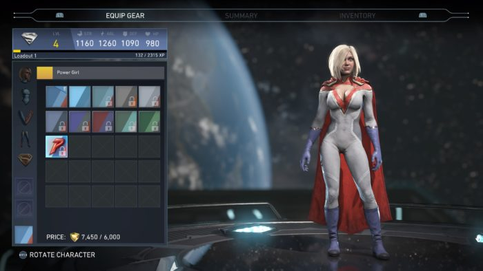 Injustice 2 Power Girl