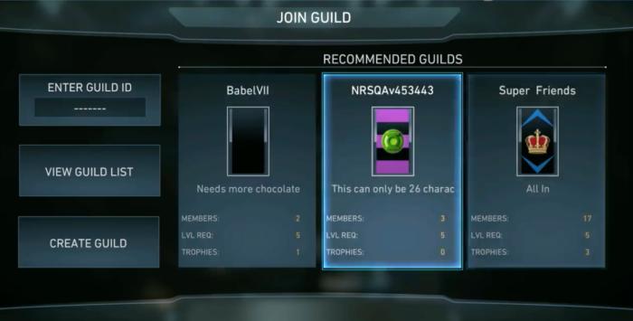 guilds injustice 2