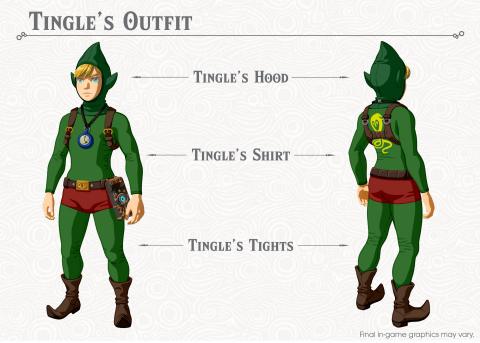The Legend of Zelda Breath of the Wild Tingle