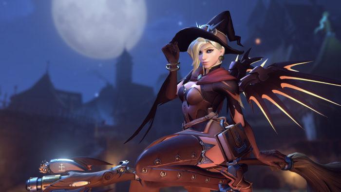 overwatch, overwatch halloween, skins, new, returning