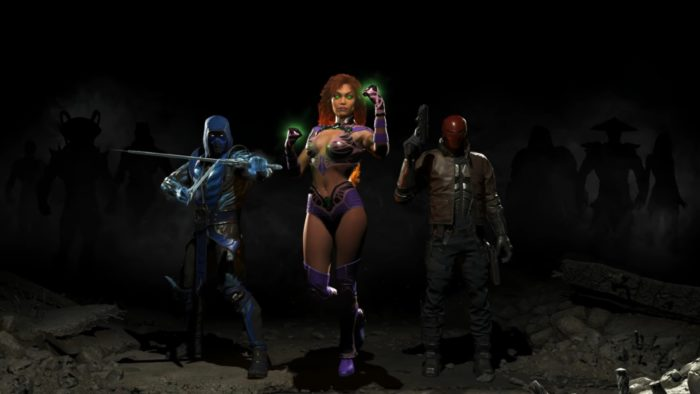 injustice 2 secret fighters
