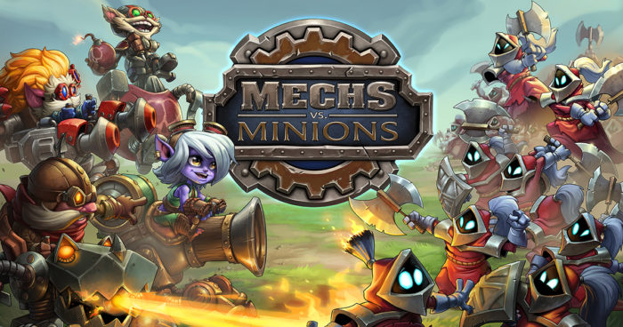 Riot Games Mechs vs Minions