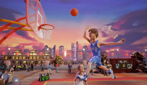 nba playgrounds dunk