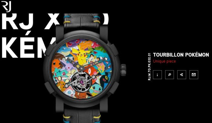 pokemon designer watch