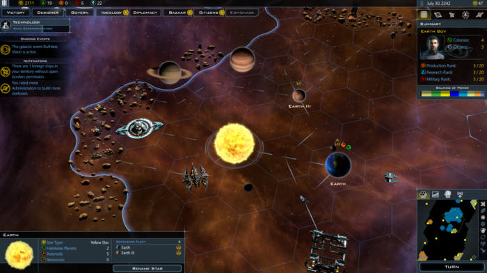 Galactic Civilizations III- Crusade