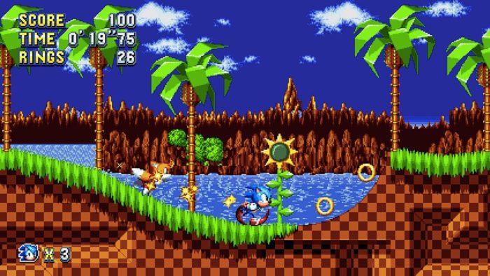 Sonic Mania co-op