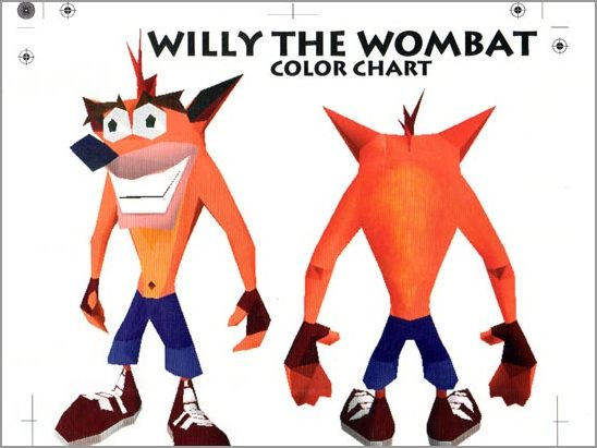 Willy the wombat
