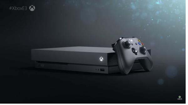 Xbox One X, e3 2017, microsoft, sony,