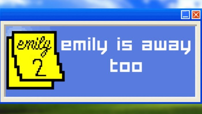 emily is away too cover