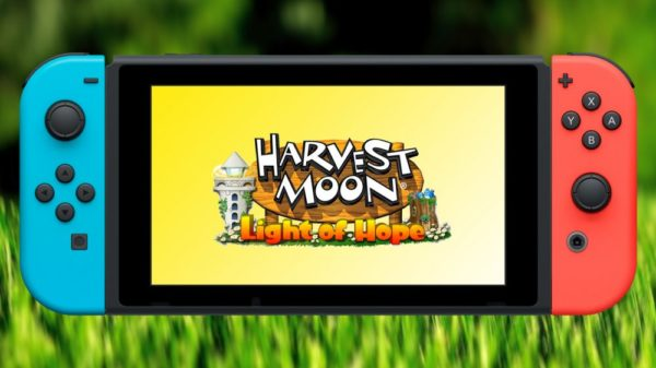 harvest moon, harvest moon: light of hope, nintendo switch, switch
