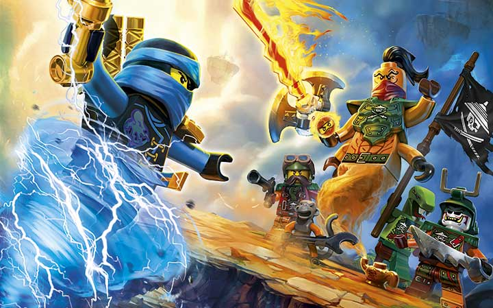 The lego ninjago movie video game has a new trailer showing off the challenge dojos - Ninjago vs ninjago ...