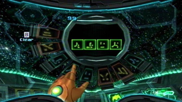 metroid prime ship message