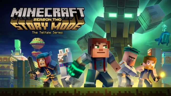 minecraft, story mode, season 2, telltale games