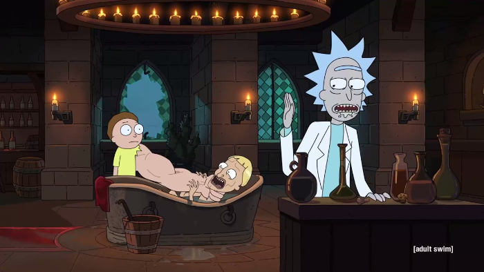 Rick And Morty Season 3 Debuts With Pickle Rick And Giant