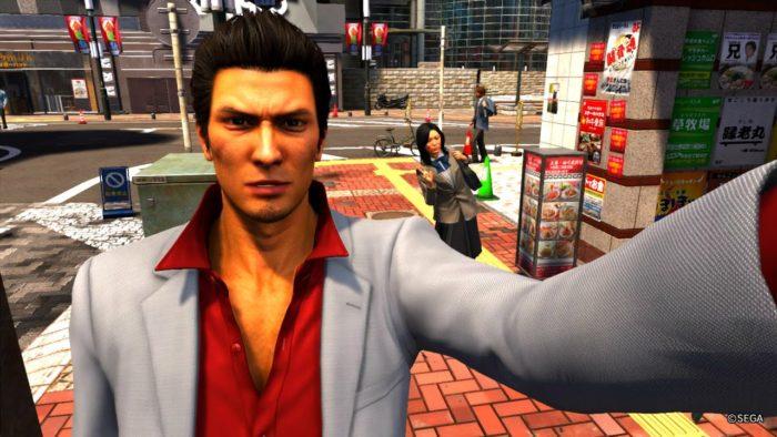 yakuza 6 selfie