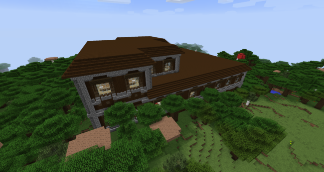 Roofed Forest Mansion