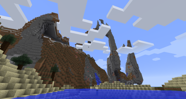 Jagged Ocean Mountains