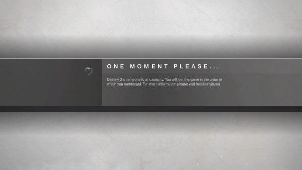 Destiny 2 Beta capacity