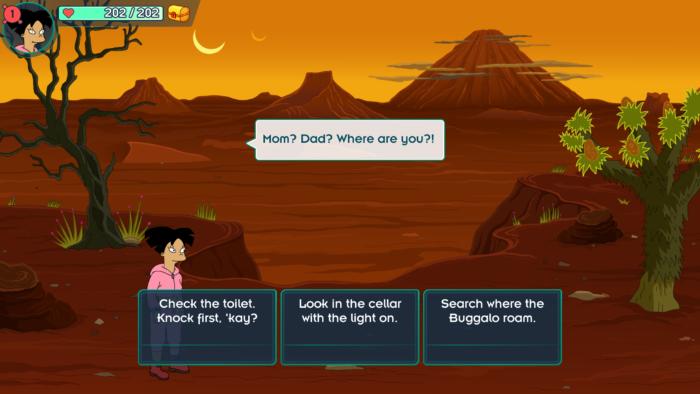 Futurama mobile game