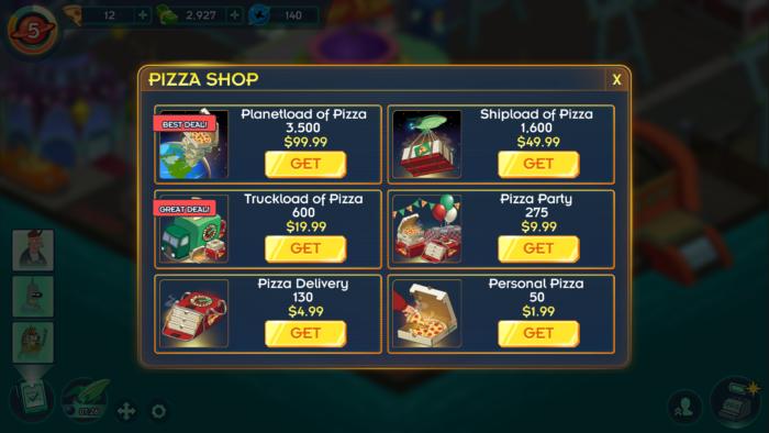 pizza shop futurama