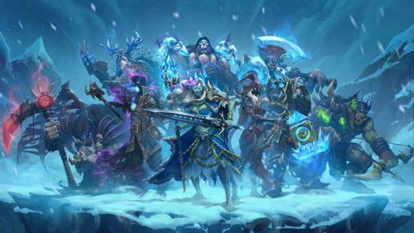 hearthstone, knights of the frozen throne