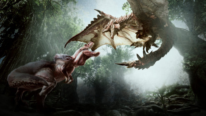 New Monster Hunter World Footage Shows Ancient Forest