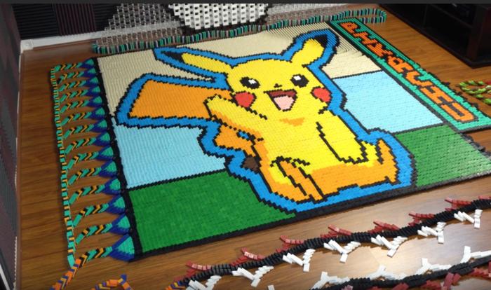 Pokemon dominoes