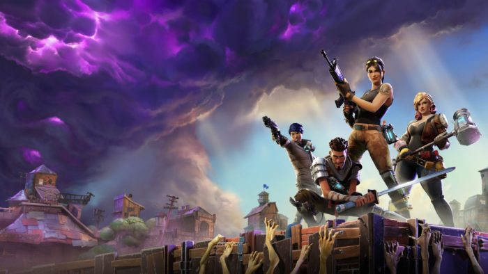 fortnite, free to play, ps4, trophies, survive the storm