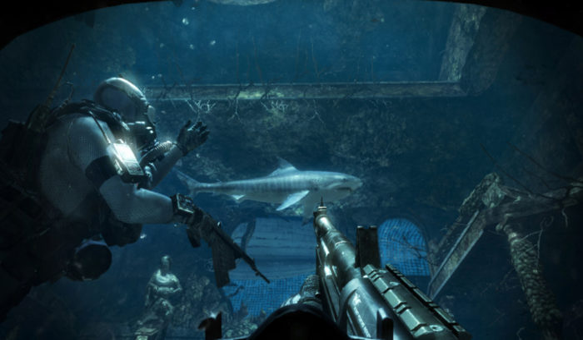 into the deep CoD