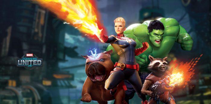marvel power united vr