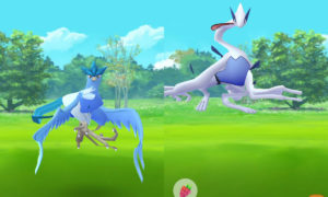 Pokémon Go Lugia and Articuno Glitch
