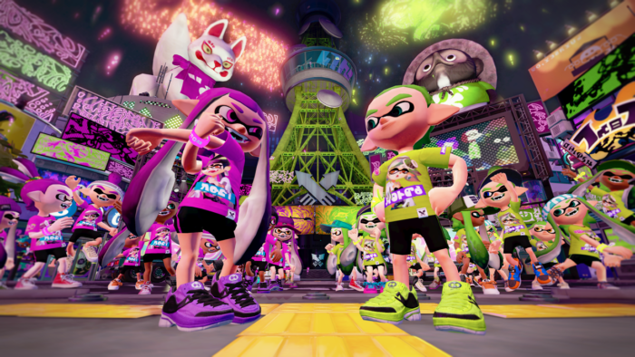 Splatoon 2, play with friends