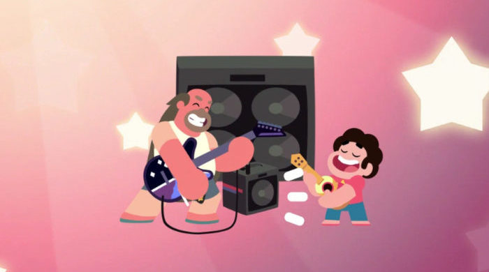 Steven and Greg Universe