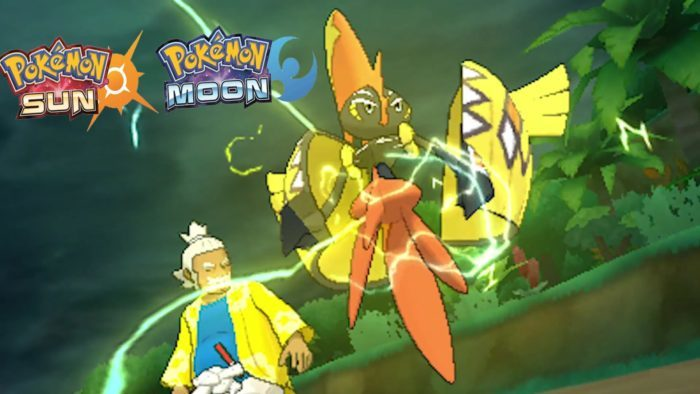 tapu koko Pokémon Sun and Moon