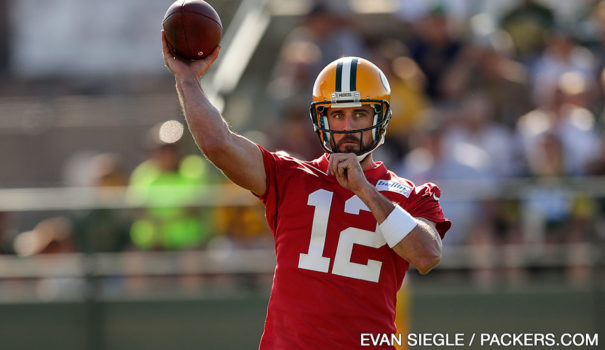 Aaron Rodgers, Packers, QB - 98