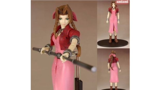 Aerith - Final Fantasy VII - Play Arts Kai