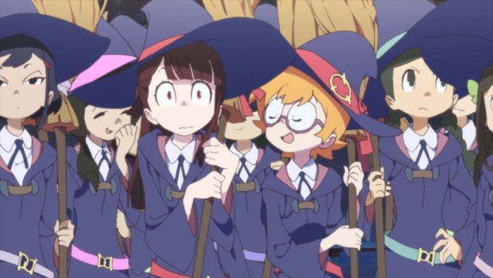 Anime Netflix Little Witch Academia