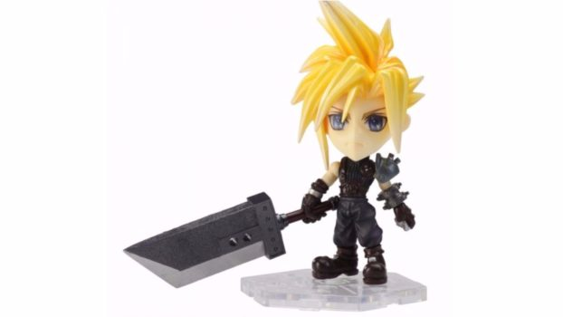 Chibi Cloud - World of Final Fantasy - Trading Arts Mini