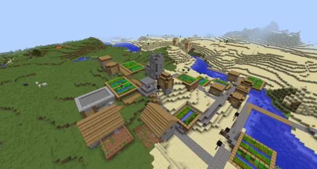 Top 15 Best Minecraft 1 12 Village Seeds
