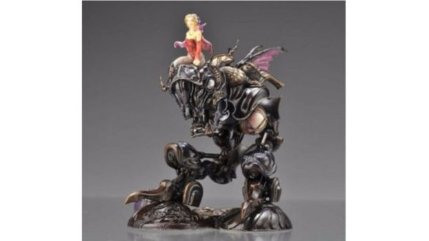 Terra in Magitek Armor - Final Fantasy VI - Final Fantasy Creatures Vol. 1