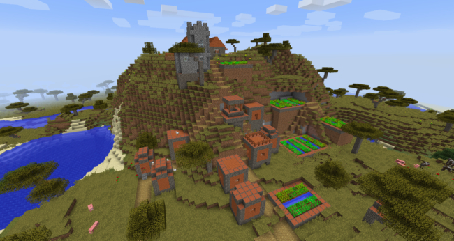 Minecraft Seeds Java