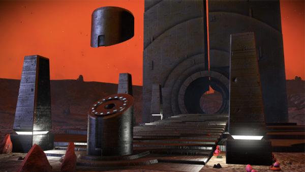 No Man's Sky 1.3 portal screenshot