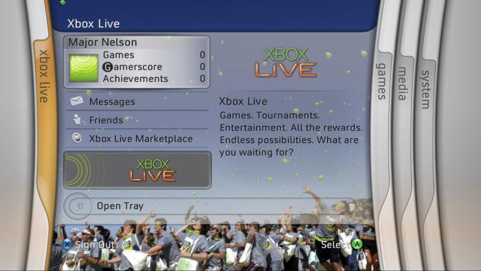 Xbox 360 Blades