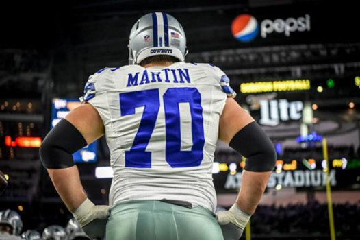 Zack Martin, Cowboys, RG - 95
