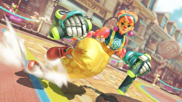Arms' New Fighter Lola Pop is Indeed a Sugar-Loving Nunchuck Clown